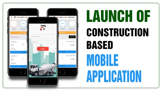 Construction related mobile app