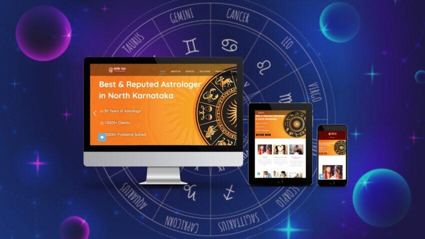 Launch of New Website for Astrologer in Hubli