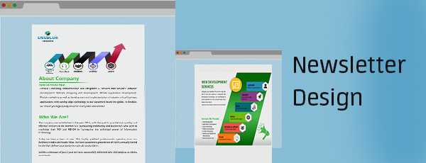 Newsletter Design company in Hubli